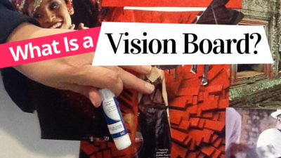What is a Vision Board blogpost by Miss Wells