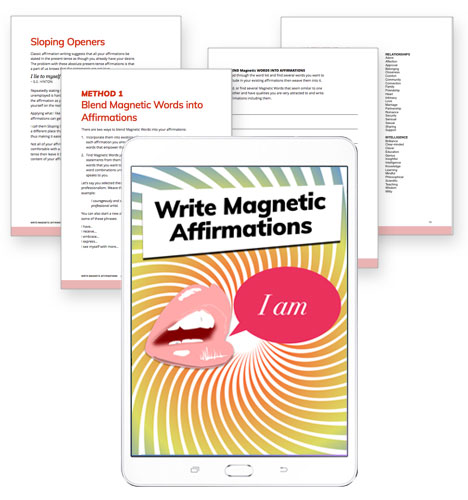 Write Magnetic Affirmations Kit
